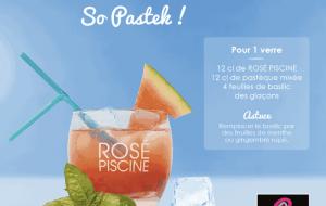 Cocktail Rosé Piscine So Pastek