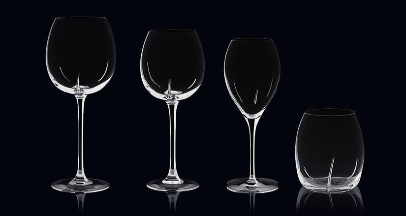 Verres à vins et spiritueux Helicium