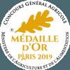 Médaille d'or Concours Général Agricole Paris 2019