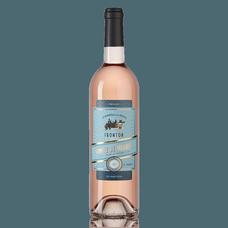 Comte de Negret vin rosé AOP Fronton