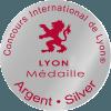 Médaille d'argent concours Internationale de Lyon