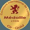 Medaille d'or concours Internationale de Lyon