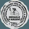 Concours des grands vins à Macon Médaille d'Argent