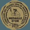 Concours des grands vins de France Mâcon 2019 Médaille d'or
