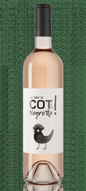 Le chant du Côt à la Negrette vin rosé AOP Fronton