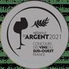 Concours des vins du Sud Ouest, Médaille d'Argent