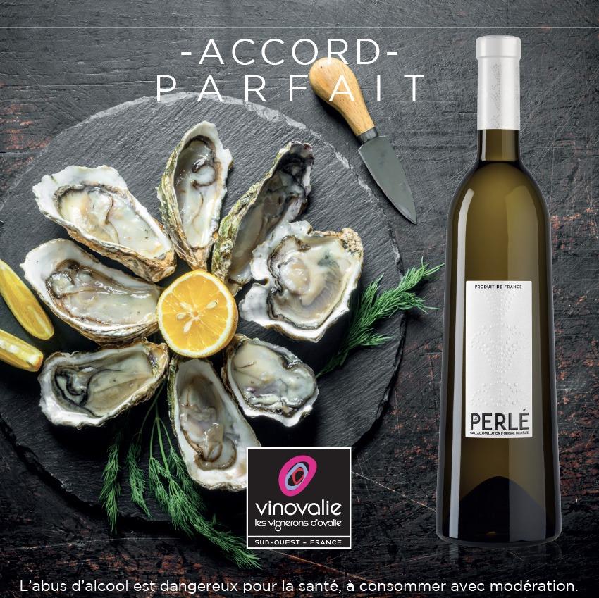 que boire avec des huîtres