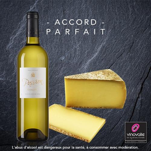 Vin blanc et Comté