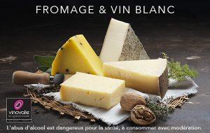 quel vin blanc avec du formage