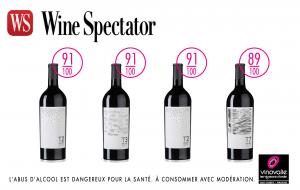 les vins AOP Cahors notés au Wine Spectator