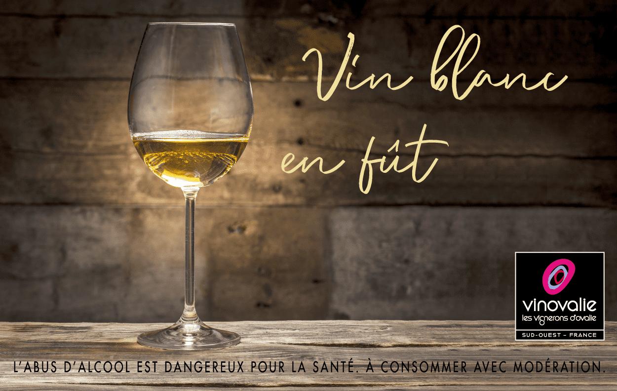 vin blanc vieilli en fût de chêne